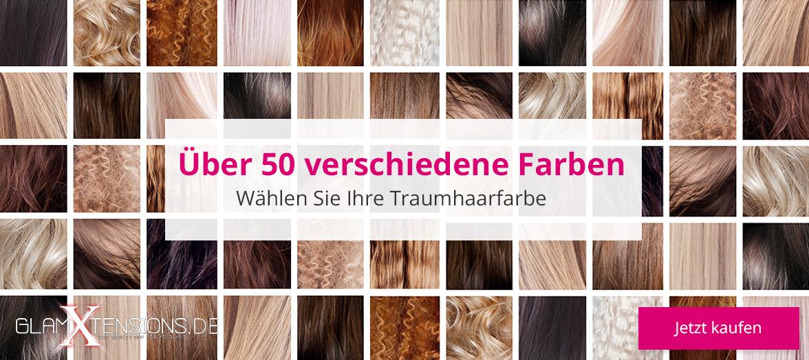 Haarverlängerung Farbring Extensions
