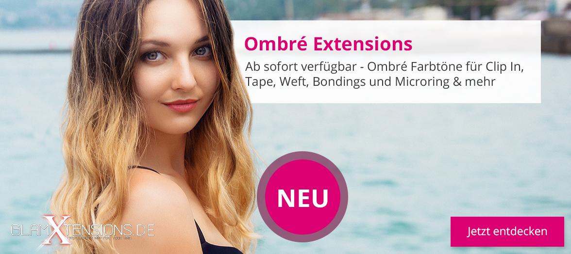 Ombré Hair Extensions Haarverlängerung - Slider