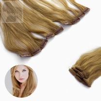 Clip In Extensions 5-teilig #18  Dunkelblond -60 cm