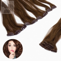 Clip In Extensions 5-teilig #30 Rotbraun-60 cm