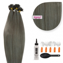 Bonding Keratin Extensions, 0,5g, #007/dunkelgrau
