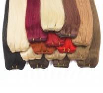 Echthaar Tressen Weft Hairs in vielen verschiedenen Haarfarben und Haarlängen