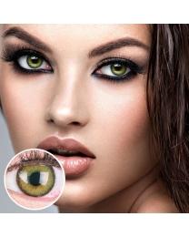 GLAMLENS Farbige Grüne Kontaktlinsen 'Mirel Green' Mit und Ohne Stärke