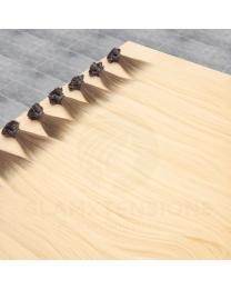 Flachbondings 50cm 1 Gramm #04/613 Schokobraun/Helllichtblond Ombre