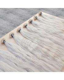 Flachbondings 50cm 1 Gramm #Grau wave natur