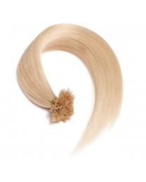 0,5g helllichtblonde U-Tip/ Bonding Keratin Haarverlängerungen aus unserem Online Shop für Qualität Extensions. - Top Preise -