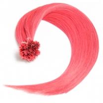 Bonding Keratin Extensions, 1g, #Pink