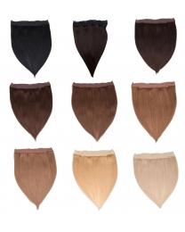 Flip-In Extensions 100g  100% Echthaar Haarverlängerung 40cm oder 50cm