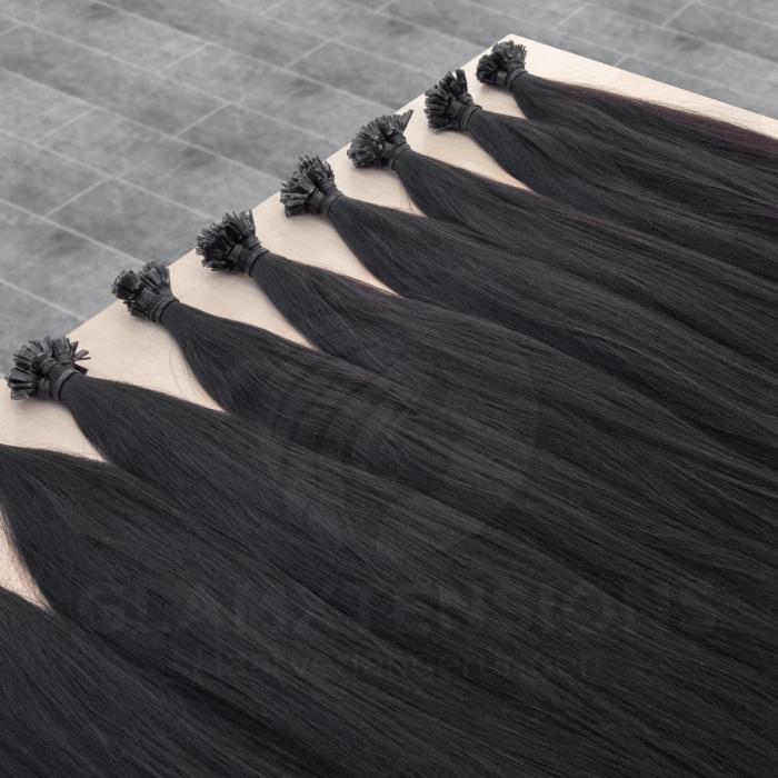 Schwarze strähnen
