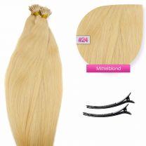 I-Tip Extensions 0,5 Gramm #24 Blond