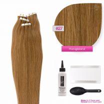 Tape In Extensions Echthaar Haarverlängerung #27 Honigblond