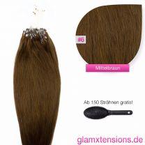 Microring Extensions 1g, #06 Mittelbraun