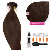 Bonding Keratin Extensions, 0,5g, #02 Dunkelbraun