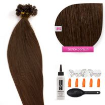 Bonding Keratin Extensions, 0,5g, #04 - Schokobraun