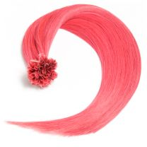 Bonding Keratin Extensions, 1g, #Pink