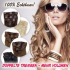 Clip in Extensions, 55cm, 160g, 8-teilig