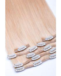 Clip In Extensions Echthaar 7-teilig 100g #24 - Blond