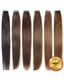 Tape In Extensions Echthaar Haarverlängerung 35 cm - 60 cm