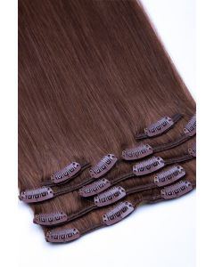 Clip In Extensions 7-teilig 100g #06 - Hellbraun