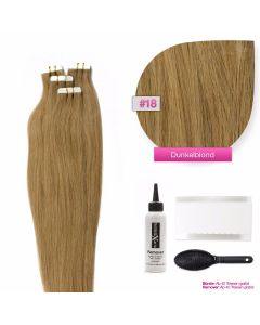Tape On Extensions, #18 Dunkelblond