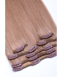 Clip In Extensions 7-teilig 100g #18 - Dunkelblond
