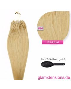 Microring Extensions 1g, #24 Blond