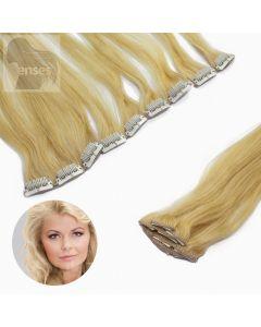 Clip In Extensions Echthaar 5-teilig #24 Blond