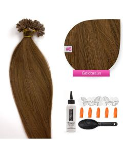 Bonding Keratin Extensions, 0,5g, #08 Goldbraun