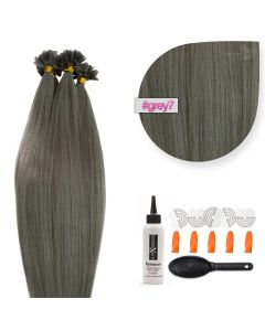 Bonding Keratin Extensions, 1g, #Gray