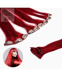 Clip In Extensions 5-teilig #darkred Dunkelrot