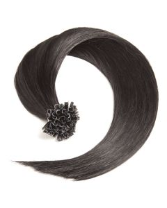Bonding Keratin Extensions, 1g, #01 - Schwarz
