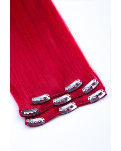 Clip In Extensions 3-teilig #red - Rot