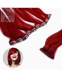 Clip In Extensions 5-teilig #red Rot