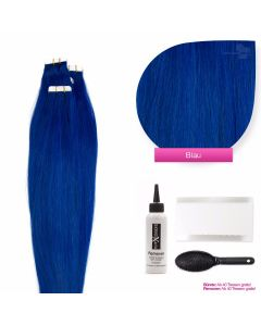 Tape On Extensions, #blau 50cm