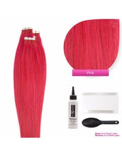 Tape On Extensions, #pink 50cm