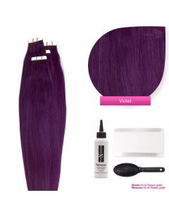 Tape On Extensions, #violet 50cm