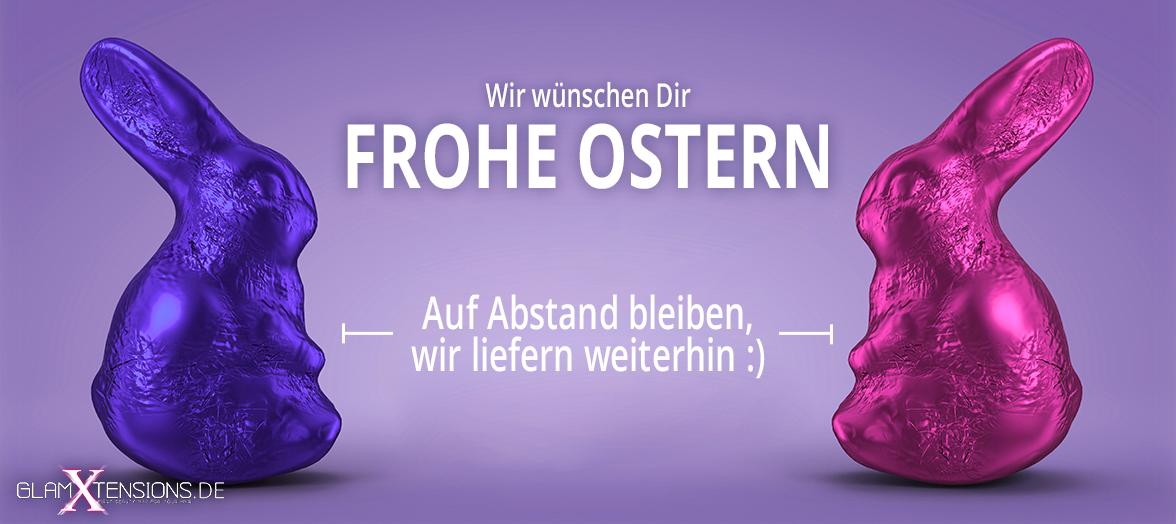 FROHE OSTERN - Wir liefern weiterhin für Dich!