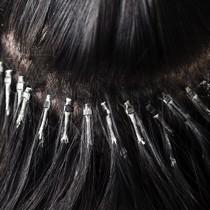 Microring Extensions für Frisöre Echthaar Haarverlängerungen