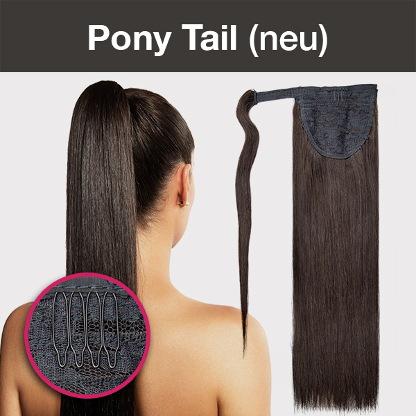 Promo Banner für Pony Tail Clip Extensions